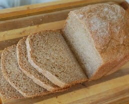 Homemade Whole-Wheat Sandwich Bread
