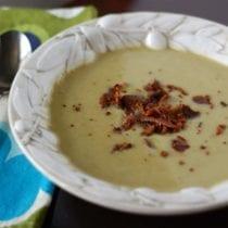 split pea soup 210x210 - Easy Split Pea Soup