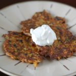 Vegetable Pancakes from 100 Days of Real Food