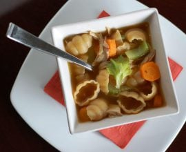 Chicken Noodle Soup from 100 Days of Real Food