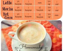 Homemade Pumpkin Spice Chart 100DaysofRealFood.com #realfood #pumpkin