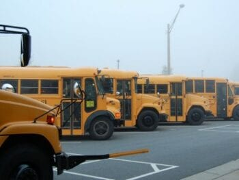 school busses kids rewards that aren't junk food