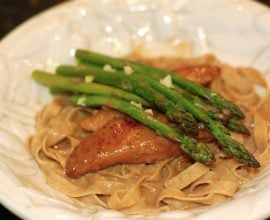 Chicken Marsala Pasta from 100 Days of Real Food