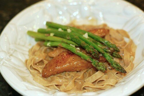 Chicken Marsala Pasta on 100 Days of #RealFood