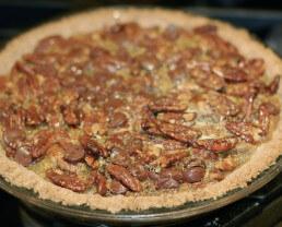 Recipe: Shortcut Chocolate Pecan Pie