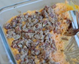 Recipe - Sweet Potato Casserole from 100 Days of Real Food