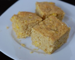 Whole Grain Corn Bread from 100 Days of Real Food