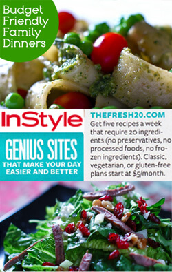 """Exclusive Holiday Offer: """"Real Food"""" Meal Plans from The Fresh 20"""