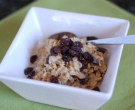 Oatmeal from 100 Days of Real Food
