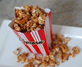 Cinnamon Glazed Popcorn from 100 Days of Real Food