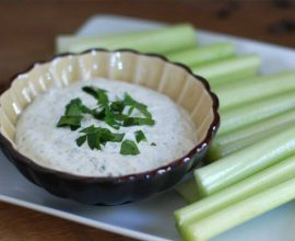 Ranch Flavored Dip from 100 Days of Real Food