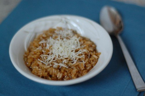 Brown Rice Risotto from 100 Days of Real Food