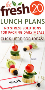 Special Offer: Lunchbox Meal Plans from The Fresh 20!