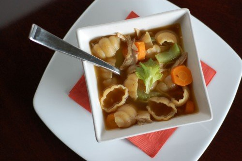 Recipe overnight chicken stock in the crock pot 100 for Homemade chicken noodle soup crock pot