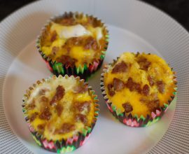 Breakfast Casserole Bites from 100 Days of Real Food