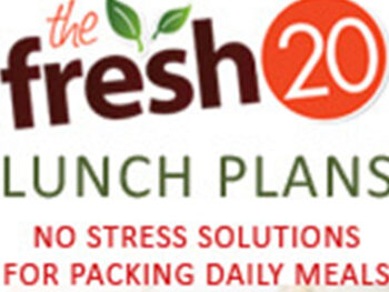 Fresh 20 lunch plans on 100 Days of Real Food