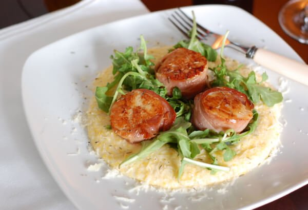 Recipe: Prosciutto Wrapped Scallops - 100 Days of Real Food