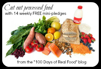 "14 ""Real Food"" Mini Pledges...baby steps for cutting out processed food!"