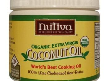 coconut oil 350x263 - How to cook with coconut oil