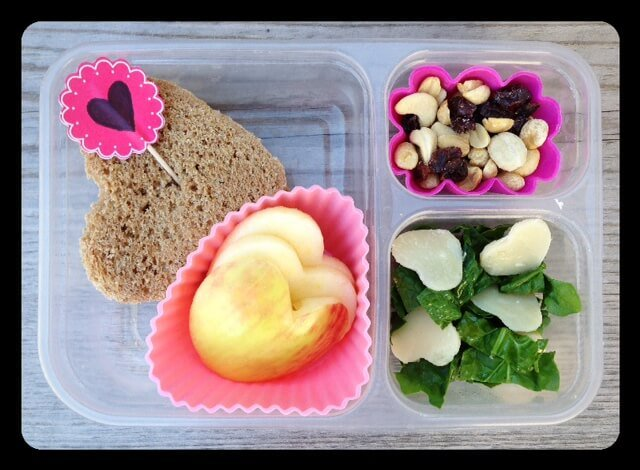 Valentine's Lunch from 100 Days of Real Food