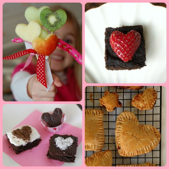 Valentine's Day Snacks from 100 Days of Real Food