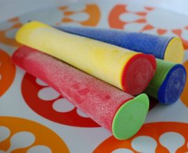 Using Freezie Pop Molds by 100 Days of Real Food