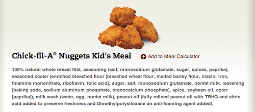 ChickFilA Chicken Nuggets - Food Babe Investigates: Why Chick-fil-A?