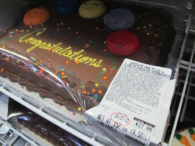 Food Babe Investigates Supermarket Birthday Cakes 100