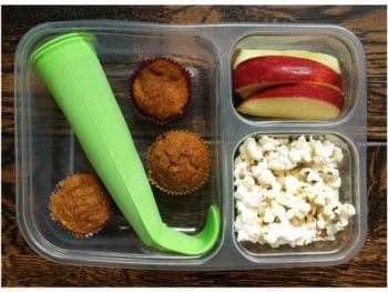 smoothie muffins and popcorn 350x263 - School Lunch Roundup!