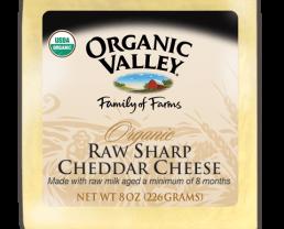 organic cheddar