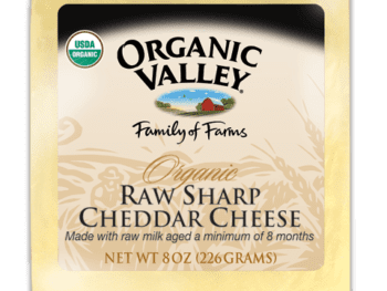 organic cheddar 350x263 - Cheese and Other Dairy Products: Are they Processed?