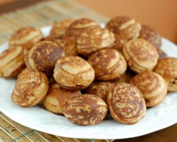 Recipe: Filled Pancakes (a.k.a. Whole-Wheat Ebelskivers)