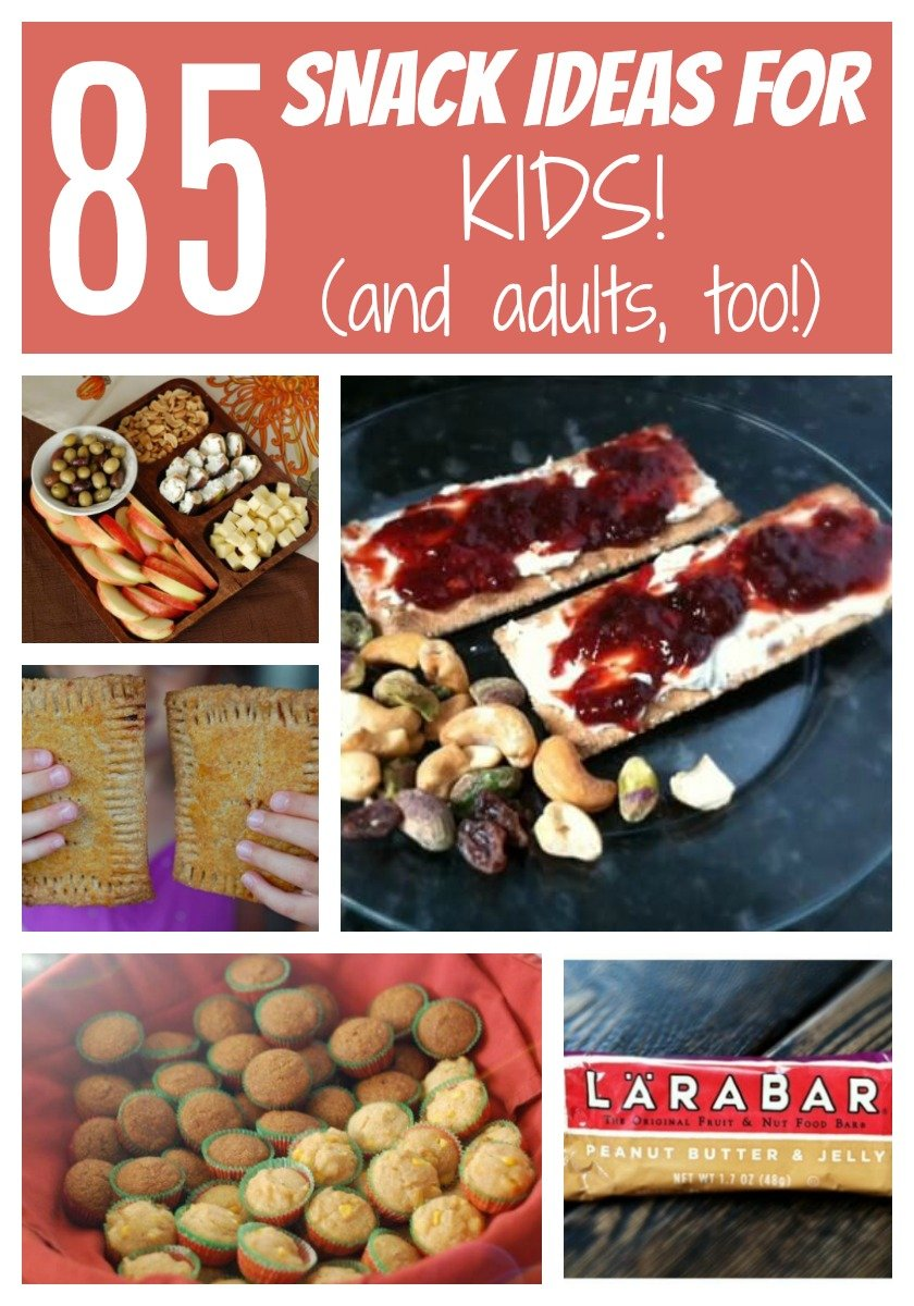 85 Snack Ideas for Kids (and adults too!) on 100 Days of Real Food