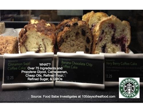 Cinnamon5 - Food Babe Investigates: Sabotaged at Starbucks