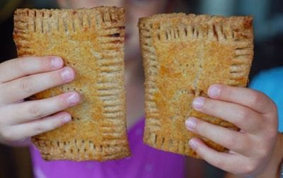 homemade pop tarts are a healthy snack idea
