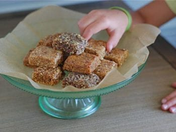 Lara Bars 350x263 - Homemade Larabars (4 ways including nut-free!)