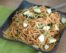 Recipes: Mara's Peanut-Thai Pasta and Feta Pasta Salad