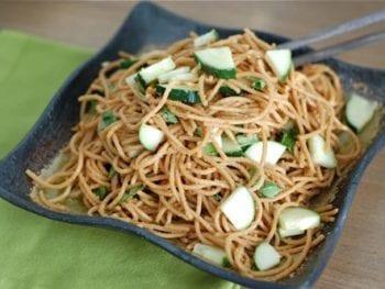 Mara's Peanut-Thai Pasta and Feta Pasta Salad