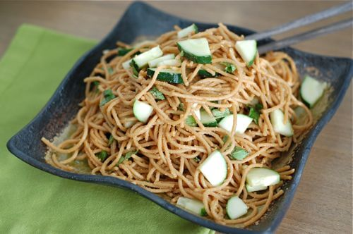 Peanut-Thai Pasta Recipe from 100 Days of Real Food
