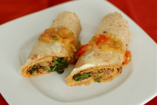 enchiladas - Product Review: Meal Plan Services