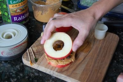 How to make an apple sandwich 7
