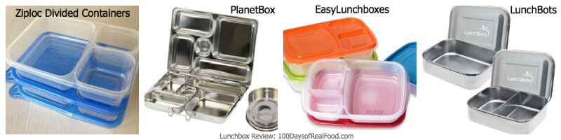Product Review Lunchboxes 100 Days Of Real Food