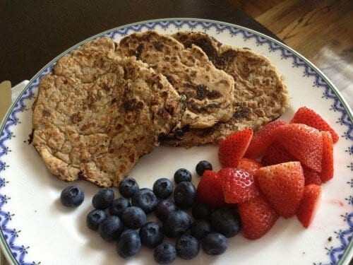 Pancake Recipe from 100 Days of Real Food