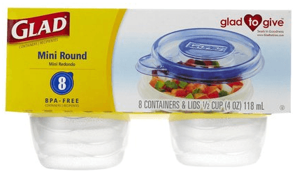 small round containers