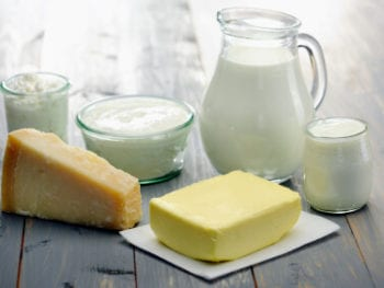 Food Allergies:  Dairy (including recipes)
