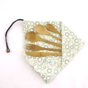 lunchbox silverware on 100 Days of #RealFood