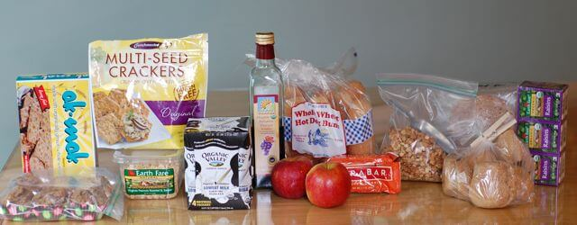 Pantry Goods for Camping Trip