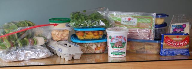 Perishable Food for Camping Trip