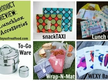 Snack Collage21 350x263 - Product Review: Eco-Friendly Lunchbox Accessories
