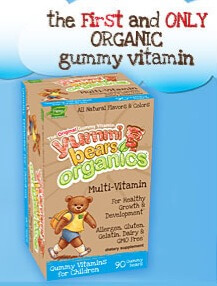 Yummy Bears Organics Multivitamin for children